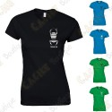 Camiseta trackable con Teamname, Mujer