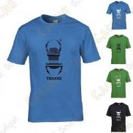 """T-shirt trackable """"Travel Bug"""" Criança - Preto"""