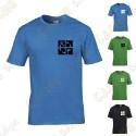 """T-Shirt trackable """"Discover me"""" Enfant"""