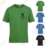T-Shirt trackable avec votre Pseudo, Enfant - Noir