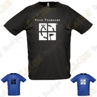 Technical T-shirt with your Teamname, for Men