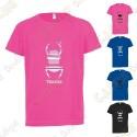 "Camiseta técnica trackable ""Travel Bug"" Niño"