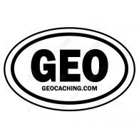Groundspeak GEO car sticker