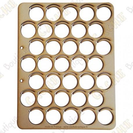 Bandeja para wood coins - 35 cajas
