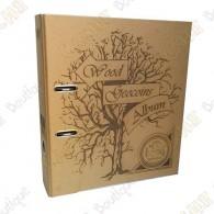 Album pour géocoins en bois - Vide