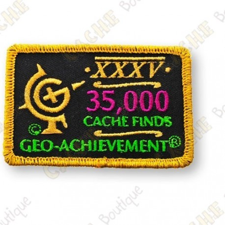 Geo Achievement® 35 000 Finds - Parche