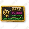 Geo Achievement® 35 000 Finds - Patch