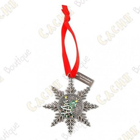 "Geocoin ""Signal ornament"" - Christmas Tree"