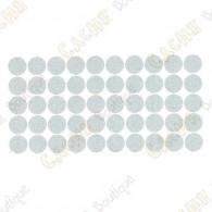 Reflective dot tape - White