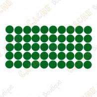 almofadas adesivas reflexivas - Verde