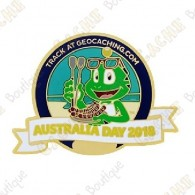 """Géocoin """"Australia Day 2018"""""""