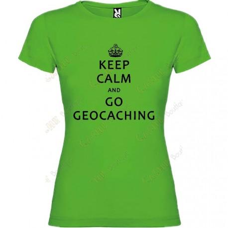 """T-Shirt """"Keep Calm"""" Femme"""