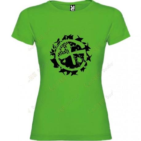 """Camiseta """"Geo-Brushwood"""" Mujer"""