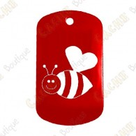 "Traveler ""Bee in Love"" - Red"