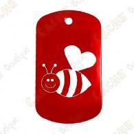 """Traveler """"Bee in Love"""" - Rojo"""