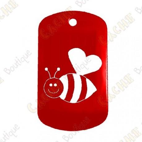 """Traveler """"Bee in Love"""" - Vermelho"""