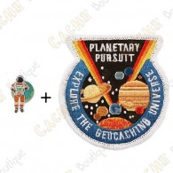 """Micro Coin """"Planetary Pursuit"""" + Patch"""