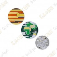 "Geocoin ""Solar System"" - Mercury, Earth , Venus"