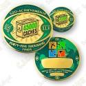 Geo Achievement® 45 000 Finds - Coin + Pin's