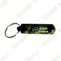 """Micro capsule """"Official Geocache"""" 5 cm - Camuflagem"""