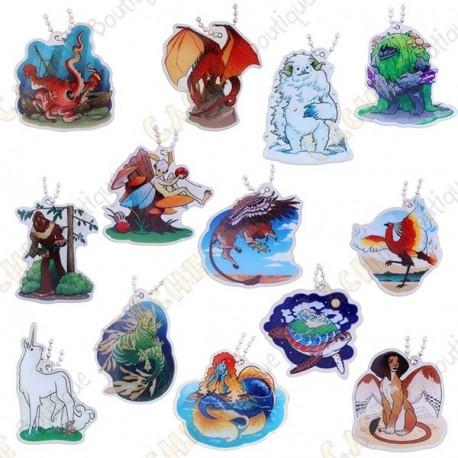 """Traveler """"Hidden Creatures"""" - Lot de 13"""