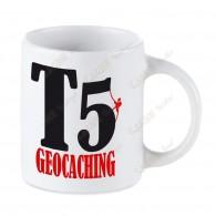 Mug Geocaching blanc - T5