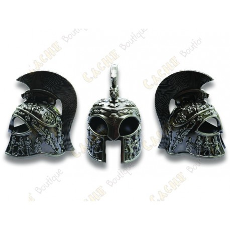 "Geocoin ""Roman Helmet"" 3D - Spartan Battle Warrior"