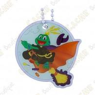 Signal the frog Traveler - Halloween