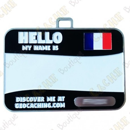 Name tag trackable - Francia