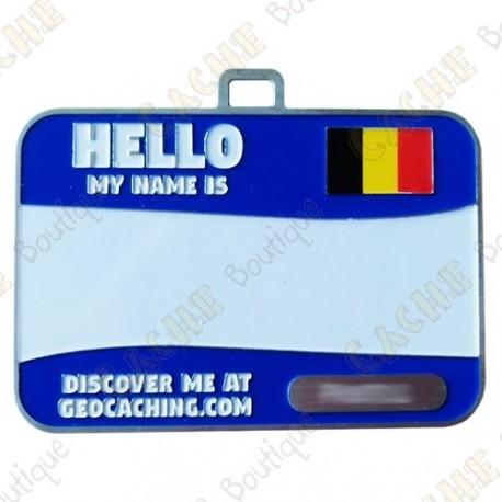Name tag trackable - Bélgica