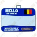 Name tag trackable - Belgique