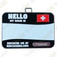 Name tag trackable - Suiza