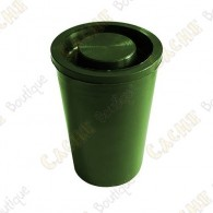 Waterproof film canister cache - Green
