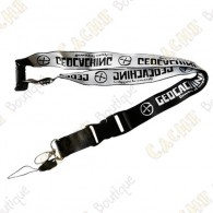 Geocaching lanyard - Black
