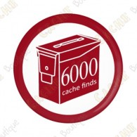 Geo Score Badge - 6000 Finds