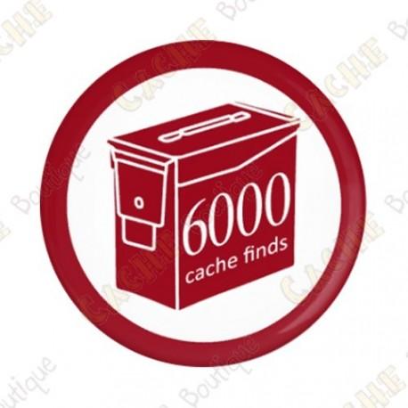Geo Score Badge - 6000 Finds