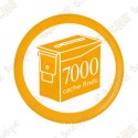 Geo Score Badge - 7000 Finds