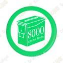 Geo Score Crachá - 8000 finds