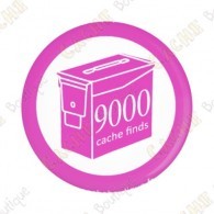 Geo Score Badge - 9000 Finds