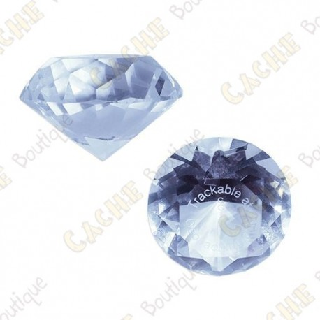 Diamant GeoGems™ Trackable - Diamond