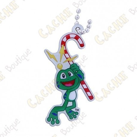 "Traveler Signal the frog ""Candy Cane"""