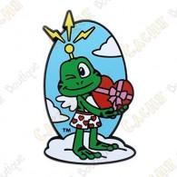 "Geocoin ""Signal the Frog™ Cupid"""