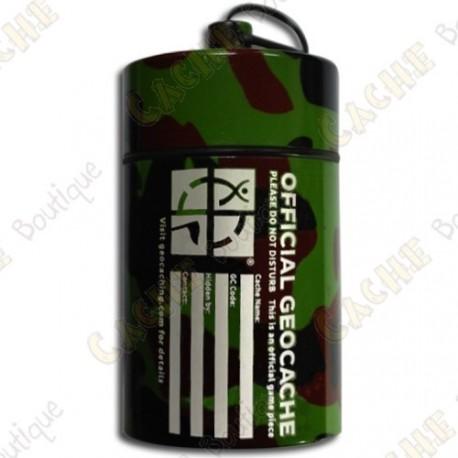 "Micro cache ""Official Geocache"" 8 cm - Camuflage"