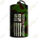 """Grosse micro cache """"Official Geocache"""" 10 cm - Camouflage"""