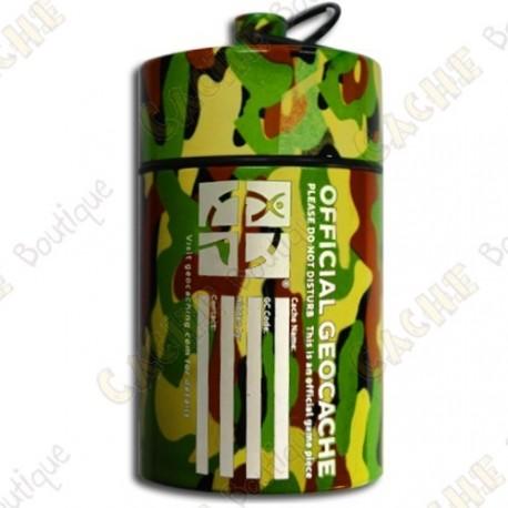 "Grosse micro cache ""Official Geocache"" 10 cm - Jungle"