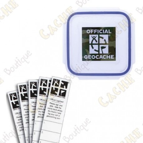"Kit ""Official Geocache"" - XX-Small"