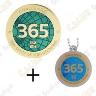 "Geocoin + Traveler ""Challenge"" - 365 jours"