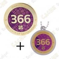 "Geocoin + Traveler ""Challenge"" - 366 jours"