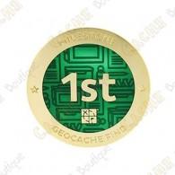 """Geocoin """"Milestone"""" - 1st Find"""