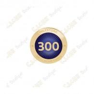 """Pin's """"Milestone"""" - 300 Finds"""